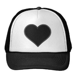 Black Heart Trucker Hat