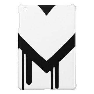 Black Heartbleed Dripping heart Cover For The iPad Mini