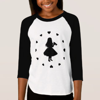 Black Hearts Around Alice Drinks T-Shirt