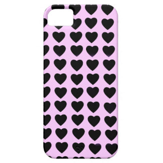 Black Hearts Barely There iPhone 5 Case