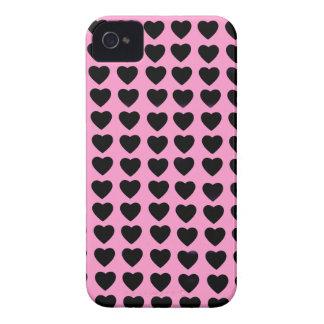 Black Hearts BlackBerry Bold Case-Mate iPhone 4 Case-Mate Case