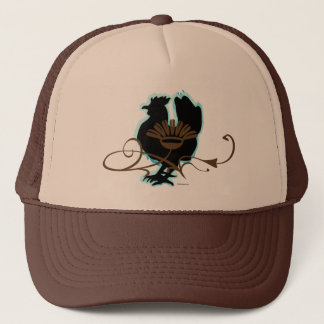 Black Hen Trucker Hat