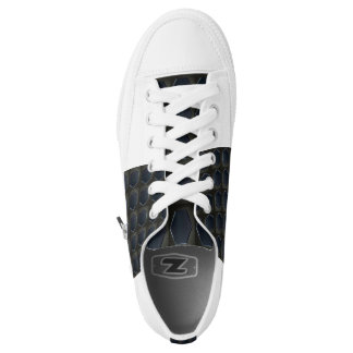 BLACK HEX LOW TOP SHOE PRINTED SHOES