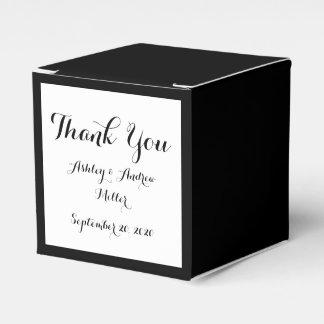 Black High End Colored Party Favour Boxes