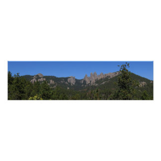 Black Hills Panoramic 53 Poster