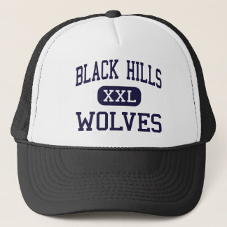 Black Hills - Wolves - High - Tumwater Washington Trucker Hat