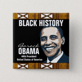 BLACK HISTORY 15 CM SQUARE BADGE