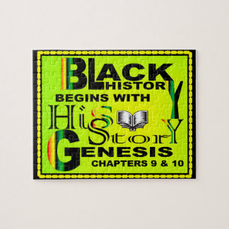 Black History Begins w/His-Story Puzzle