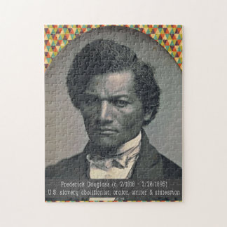 Black History Heroes Puzzle: Frederick Douglass Jigsaw Puzzle
