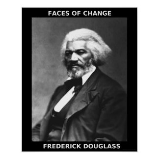 Black History Month Heroes - Frederick Douglass Poster