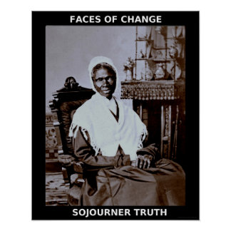 Black History Month Heroes - Sojourner Truth Poster