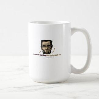 Black History Month: President Abraham Lincoln Basic White Mug