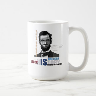 Black History Month: President Abraham Lincoln Mug