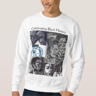 BLACK HISTORY NEGRO COLLAGE sweatshirt