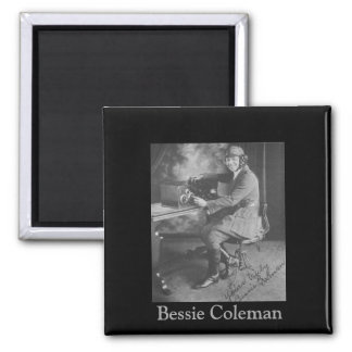 Black History   Picture of Bessie Coleman Magnet