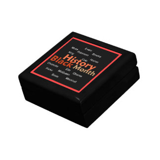 BLACK HISTORY SMALL SQUARE GIFT BOX