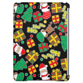 Black - Ho Ho Santa Case For iPad Air