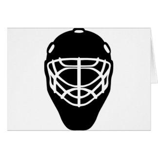 Black Hockey Mask Card