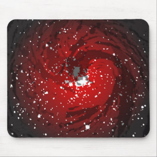 Black Hole Background Mouse Pad