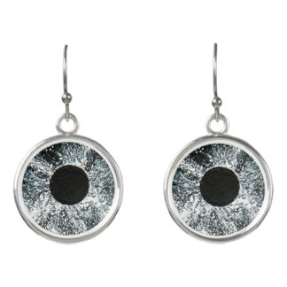 Black Hole Earrings