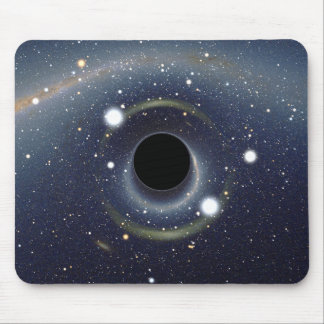 Black Hole Einstein Ring NASA Mouse Pad