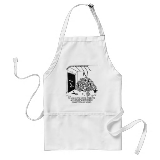 Black Hole Filled With Tools Aprons