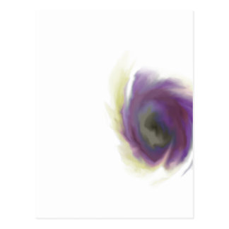 Black Hole Flower Postcard