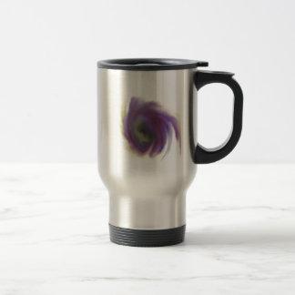 Black Hole Flower Travel Mug