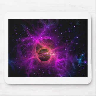Black hole in space mouse pad