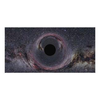 Black Hole Milky Way Personalised Photo Card