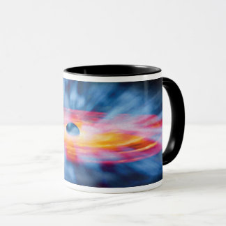 Black Hole Outflows - Colorful Artist Concept Mug