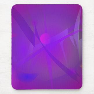 Black Hole Purple Digital Abstract Art Mousepads