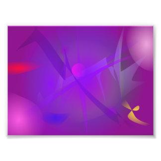 Black Hole Purple Digital Abstract Art Photo