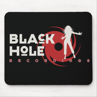 "Black Hole Recordings ""Dance""  Mousepad"