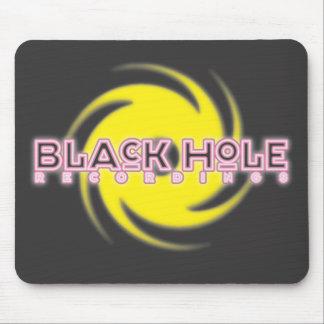 """Black Hole Recordings """"Neon"""" Mousepad"""