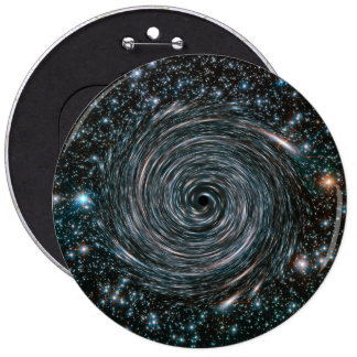 Black Hole Star Cluster Photo 6 Cm Round Badge