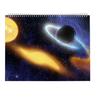 Black Holes In Space by NASA Wall Calendar