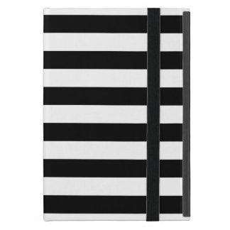 Black Horizontal Stripes Case For iPad Mini