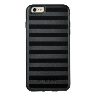 Black Horizontal Stripes OtterBox iPhone 6/6s Plus Case