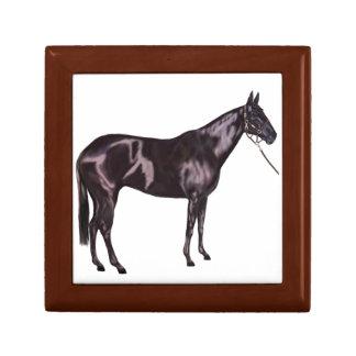 Black Horse Art Gift Gift Box