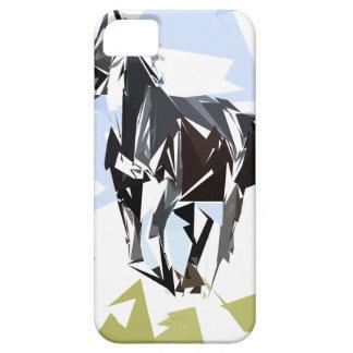 Black horse iPhone 5 case