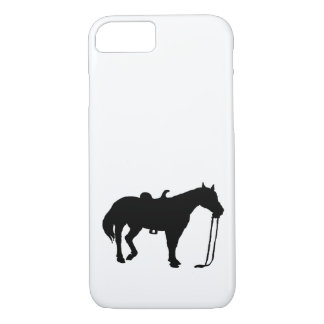 Black Horse iPhone 8/7 Case