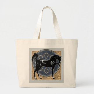 Black Horse Jumbo Tote Jumbo Tote Bag