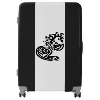 Black Horse Large Sized Luggage Suitcase