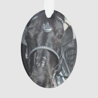 Black Horse Ornament