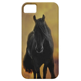 Black Horse Silhouette Barely There iPhone 5 Case