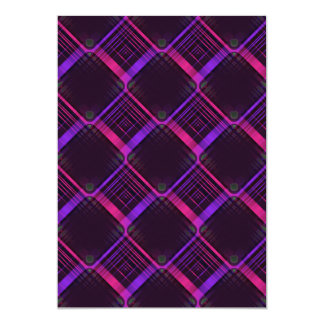 BLACK HOT PINK RANDOM ABSTRACT BACKGROUNDS WALLPAP PERSONALIZED INVITATIONS