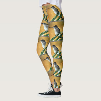 Black Hummer in Golden Sky Women's Leggings
