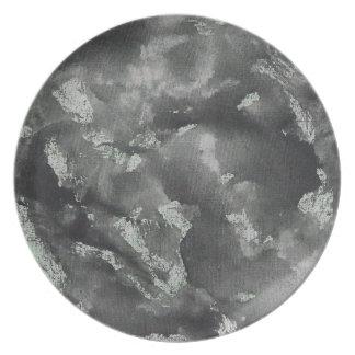 Black Ink on Green Washable Marker Plate
