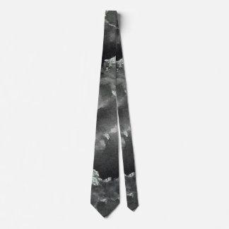 Black Ink on Green Washable Marker Tie